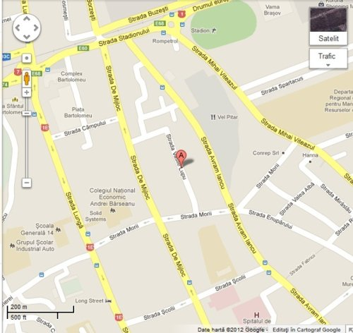 google map vanel m